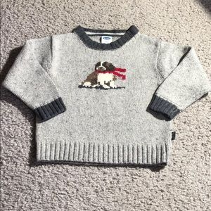 Old Navy baby crew neck holiday sweater 18-24 mos